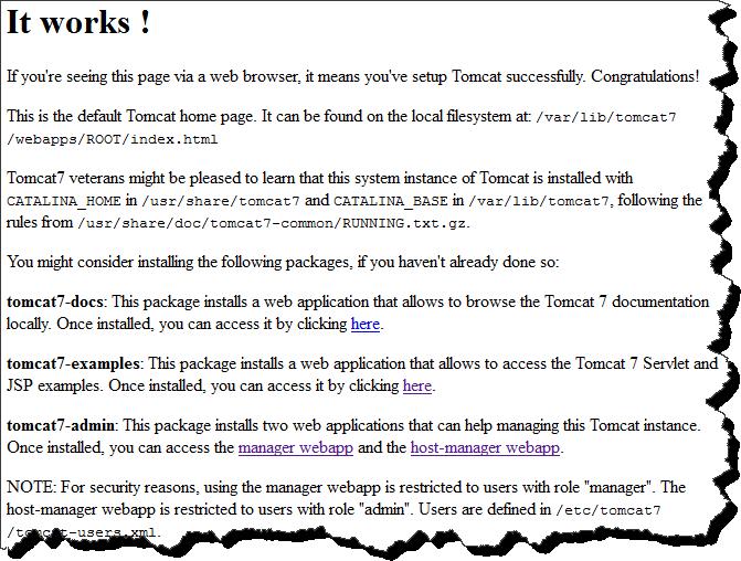 How to install Apache Tomcat 7 on Ubuntu Server 12 4 LTS