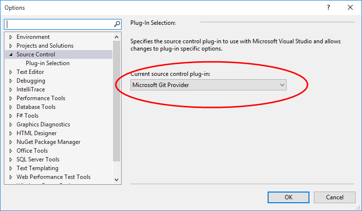 Microsoft Git Provider
