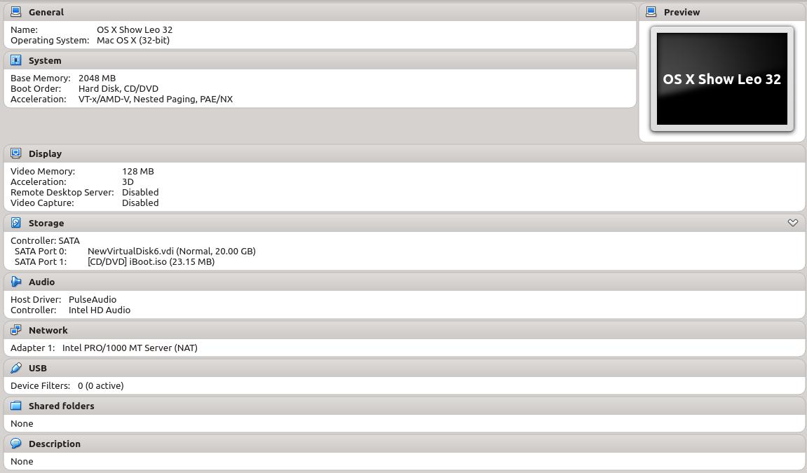 Running Mac OS X with Virtual Box | DeveloperNote com